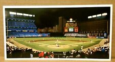 "Bill Goff Advertising Card of ""Camden Yards Nocturne"" by Kasper - Ex Cond"