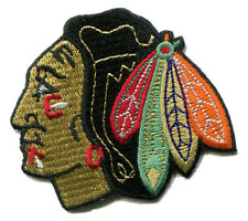 "CHICAGO BLACKHAWKS NHL HOCKEY 2.75"" TEAM LOGO PATCH"