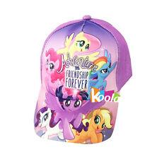 Girls My little Pony Friendship Forvever Baseball Cap Adjustable Hat age 2-4