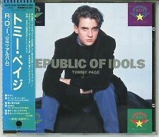 TOMMY PAGE R.O.I. Republic Of Idols CD JAPAN ONLY  1989 7 tracks WITH OBI s4987