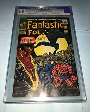 Fantastic Four #52 (Jul 1966, Marvel) 1st black panther! Ultra Key Issue Cgc W/P