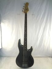 2002-2003 Fender Zone 4-String Gunmetal Grey Bass Guitar Made In Mexico