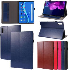 "For Lenovo Tab P11 Pro J706F 11.5"" Tablet Smart Sleeping Leather Flip Case Cover"