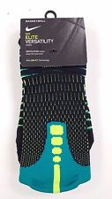 New Nike Elite-Cushioned Basketball Crew Socks Size L 8-12 - XL 12-15