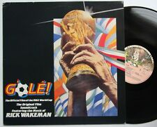 Rick Wakeman G 'OLE Offical World Cup 1982 LP sample copy Sticker