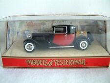 MATCHBOX MODELS OF YESTERYEAR Y24 - 1927 BUGATTI T44 - NEW