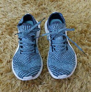 Womens Adidas UltraBoost X Parley Carbon Blue size 4.5 EU 37 1/3