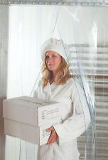 """Strip Curtain Door 36"""" x 84"""" 8"""" NSF Vinyl /PVC/Plastic Walk In Cooler/Freezer"""