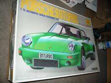 Otaki Porsche 911 Turbo 1/12 Scale Model Kit