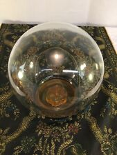 RARE Glass Dome, Frog And Base For Flower Arranging - Really Neat!