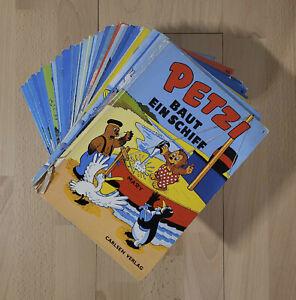 Petzi Comics - Carlsen Verlag - Konvolut 30 Stück (Nr. 1-30)