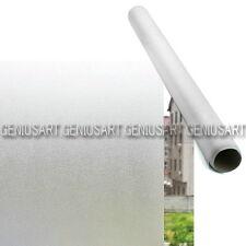 Film Pellicola Adesivo per Vetro Finestre Sticker Effetto Opaco Nebbia 300x60cm