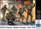 Master Box 1/35 British Infantry. Western Europe, 1944-1945 # 3585