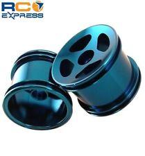 GPM Racing Losi Mini-T Aluminum Blue Front Compass Wheels SMT0403F/L06