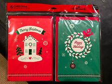 Hallmark Christmas Cards - Pack of 6