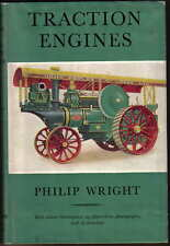 Traction Engines by Philip Wright Pub 1959 steam roller wagon plough saw tractor