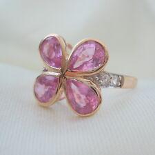 2.87ct Certified Sri Lankan Hot Pink Sapphire Rose Gold Ring