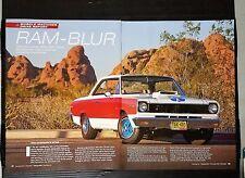 1969 AMC Hurst SC Rambler - 6-Page Original Article - Free Shipping