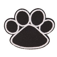 footprint iron on patch embroidered applique sewing clothes stickers garment  *u