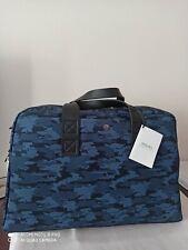 NWT $800 Mismo Travel Bag Nylon Blue