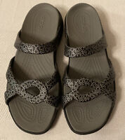 Crocs Disney Meleen Twist Sandals Slides Shoes Women's Size 11 Mickey Mouse