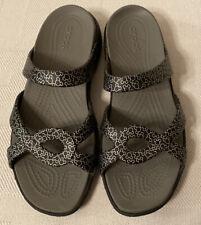 Crocs Disney Meleen Twist Sandals Slides Shoes Women's Size 11 Mickey Mouse