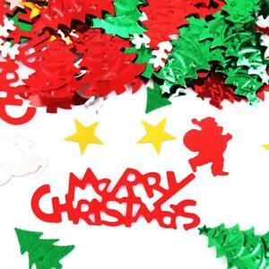 Christmas Symbolic Design Bright Confetti Party Table Decoration Set (#07)