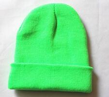 Plain Beanie Unisex men women Warm Ski Cap Winter Knitting Hat Cap one size