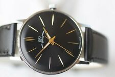 VINTAGE MEN'S BIG RUSSIAN MECHANICAL LUCH (POLJOT) DE LUXE WATCH 23 JEWELS!