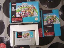 SNES Super Mario Kart (with box & manual) PAL