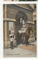 Horse Guard, London Art Postcard, B149