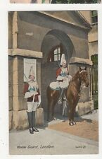 Horse Guard, London Art Postcard, B149