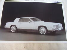 1980 CADILLAC ELDORADO   BIG 11 X 17  PHOTO /  PICTURE