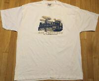 NOS vintage 90s San Francisco California t shirt 3XL white trolley CA tourist