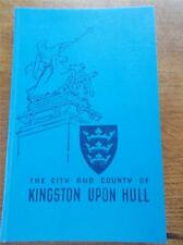 The City & County of Kingston Upon Hull H/B book Illustrated Real Photos c1951