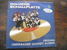 goldene schallplatte - oberkrainer quintett avsenik - telefunken SLE 14 320 P