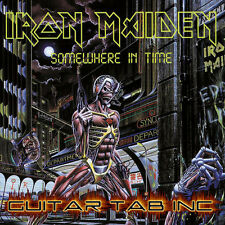 Iron Maiden Digital Guitar Tab SOMEWHERE IN TIME Lessons on Disc Murray Smith