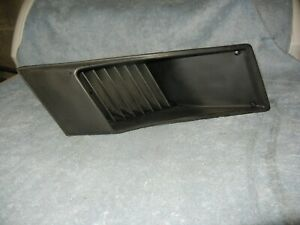 Fiat X1/9 Right Rear 1/4 Air Intake Scoop