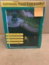 3.8L LCD Digital Pond Automatic Fish Feeder Fish Pond Feeder Fish Food Timer