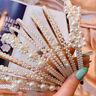 Women's Pearl Headband Cat Ear Hairband Hoops Wedding Party Hair Accessories