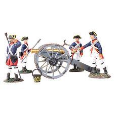 Britains 16015-BRITISH ROYAL ARTIGLIERIA 6 Pound Pistola con 4 Man Crew