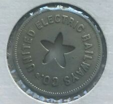 Providence Rhode Island RI United Electric Railways Co Transportation Token