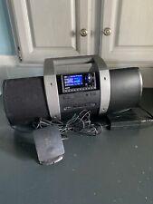 Sirius Xm Satellite Radio BoomBox Boom Box Subx1 with Sp5 Receiver Nice