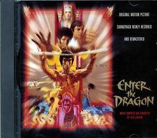 "Lalo Schifrin ""ENTER THE DRAGON"" soundtrack Warner Home Video Gold CD 17 tracks"