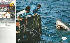 Jaws Richard Dreyfuss autographed 8x10 great action photo Jsa Certified