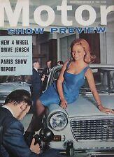 Motor magazine 16/10/1965 featuring MG Magnette road test, Jensen C-V8