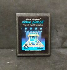 Video Pinball (Atari 2600, 1981) Cart Only