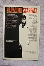 Scarface Lobby Card Movie Poster Al Pacino