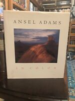 1st Edition 1st Printing Ansel Adams In Color!! Beautifully Illustrated!!