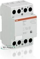 5 Stück ABB Installationsschütz ESB40-40-230AC/DC, 4Schließer, GHE3491102R0006